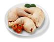 raw chicken dish