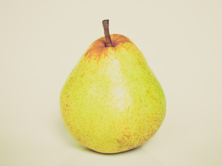 Retro look Pear picture