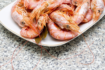 tasty shrimps