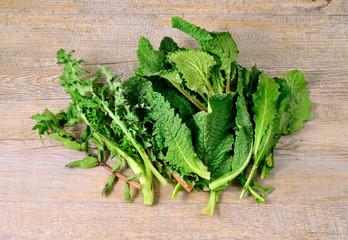 Mixed vegetables wild (misticanza)