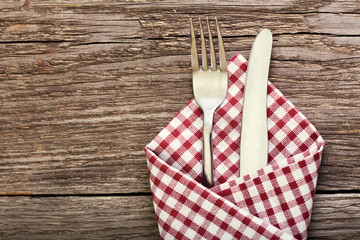 fork and knife as utensils