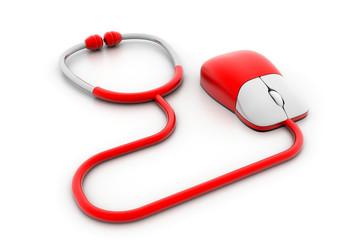 Online medical concept