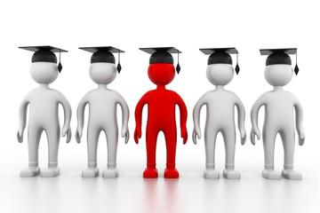 3d Graduating team