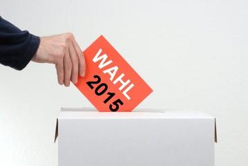 Nicht vergessen: 2015 wird gewählt