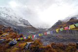 Storm in the Annapurna Base Camp, Nepal