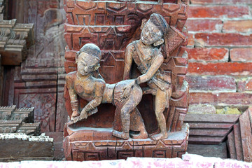 Erotic carving, Kama Sutra position