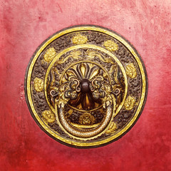 Tibetan door knocker