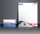 Automobile Center corporate Identity Template.