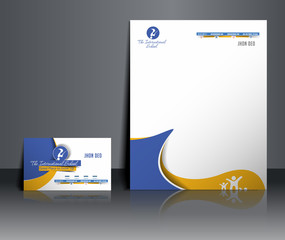 School corporate Identity Template.