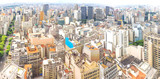 Panoramic view of Sao Paulo, Brazil