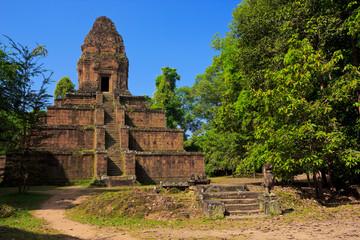 Baksei Chamkrong temple near Angkor Wat, Siem Reap province