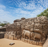 Descent of the Ganges and Arjuna's Penance, Mahabalipuram, Tamil