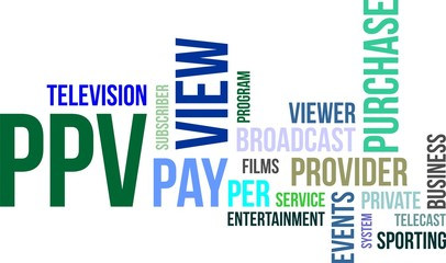 word cloud - ppv