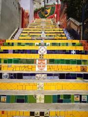 Selaron's steps (Escadaria Selarón), Rio de Janeiro