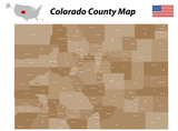 Colorado County Map