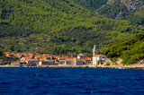 Jelsa town on Hvar island, Croatia