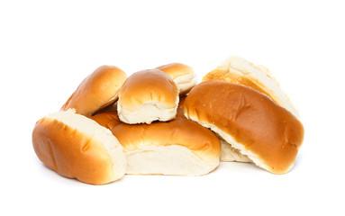 Several bread rolls