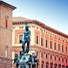 Neptune Statue in Bologna, Italy