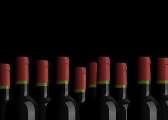 Bouteilles de vins