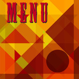 Restaurant menu,free copy space, vector illustration