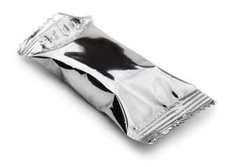 Closed food foil package