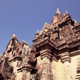 temple at Old Bagan in Myanmar