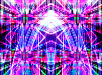 Purple abstract star background