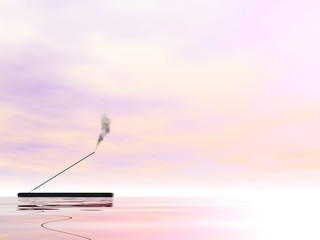 Incense - 3D render