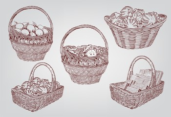 set of basket