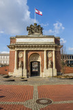 Berlin gate in the center of Wesel