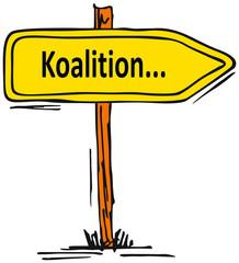 Koalition...