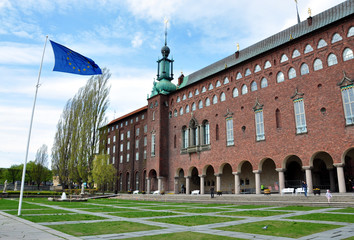 City Hall in Stockholm, Sweden, Scandinave, Europe