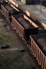 Carvão no Trem