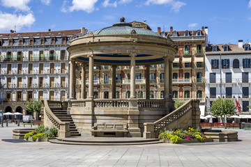 kiosk in Pamplona