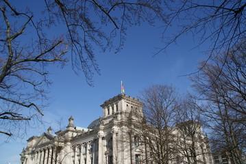 Bundestag, Deutschland, Berlin, Brandburger Tor, Politik