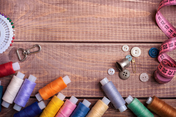 thread and sewing