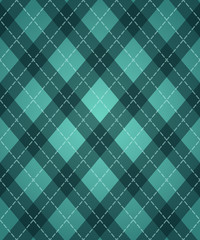 St.Patrick's Day's rhombic pattern