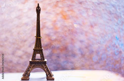 Eiffel tower, romantic