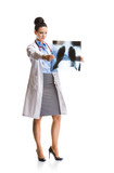 Doctor woman with stethoscope