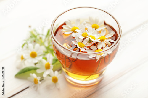 Tuinposter Thee herbal chamomile tea