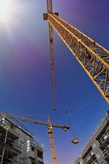 chantier construction immeuble