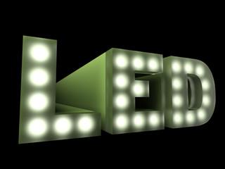 LED technology sign