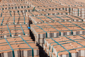 Bricks Blocks Paving Road Materials
