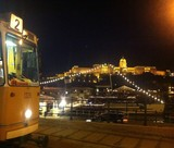 Wonderful view on the Buda Castle in Budapest