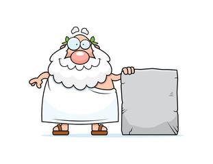 Greek Philosopher Tablet