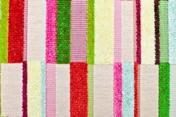 Vibrant textile