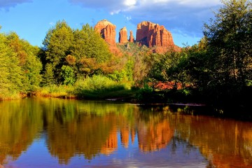 Cathedral Rock at sunset, Sedona, Arizona, USA