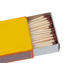 Matchbox with many matches