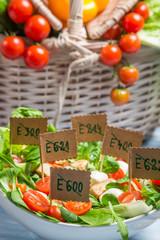 Healthy salad with no preservatives