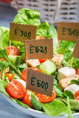 Vegetable salad with no preservatives
